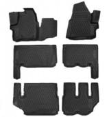 Novline Коврики в салон для Ford Tourneo Custom '13-, полиуретан черные