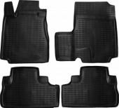 Novline Коврики в салон для Honda CR-V '06-12, полиуретан черные