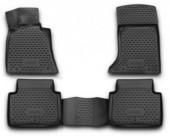 Novline Коврики в салон для Hyundai Genesis '12-, полиуретан черные