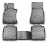 Novline Коврики в салон для Lexus LS '12-17, полиуретан черные
