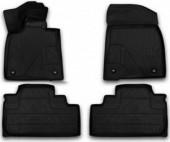 Novline Коврики в салон для Lexus RX '16-, полиуретан черные