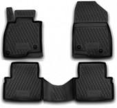 Novline Коврики в салон для Mazda 3 '14-, полиуретан черные