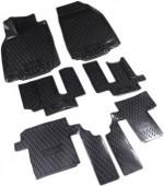 Novline Коврики в салон для Mazda CX 9 '08-16, полиуретан черные