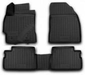Novline Коврики в салон для Toyota Corolla '07-12, полиуретан черные
