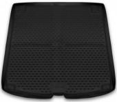 Novline Коврик в багажник BMW 5 E61 '03-10 универсал, полиуретановый черный