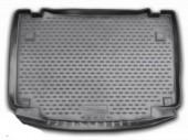 Novline Коврик в багажник Daihatsu Terios '07-, полиуретановый черный