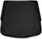 Novline Коврик в багажник Ford Mondeo '07-14 седан, полиуретановый черный