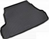 Novline Коврик в багажник Hyundai Elantra HD '06-10, полиуретановый черный