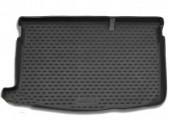 Novline Коврик в багажник Mazda 2 '07-14, полиуретановый черный