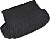 Novline Коврик в багажник Hyundai Santa Fe '10-12, полиуретановый черный