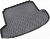 Novline Коврик в багажник Kia Ceed '06-12, полиуретановый черный