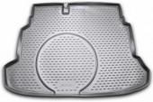 Novline Коврик в багажник Kia Cerato Koup '09-13, полиуретановый черный