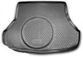 Novline Коврик в багажник Kia Cerato '13- седан, полиуретановый черный
