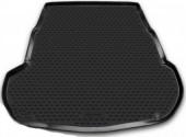 Novline Коврик в багажник Kia Optima '10-15, полиуретановый черный
