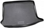 Novline Коврик в багажник Renault Sandero '08-12, полиуретановый черный