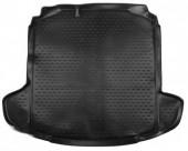 Novline Коврик в багажник Skoda Rapid '13-, полиуретановый черный