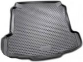 Novline Коврик в багажник Volkswagen Polo '10-, полиуретановый черный