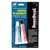 DoneDeal DD6540 4-минутный 2-компонентный стальной эпокси-адгезив