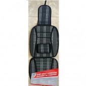 Elegant Накидка на сиденье бамбуковая черная, 1шт