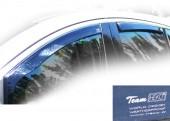 Heko Дефлекторы окон Mitsubishi L-200 4 2006 -> вставные, черные 4шт
