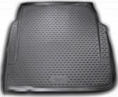 Novline Коврик в багажник Mercedes S-Class W221 '06-13, полиуретановый черный