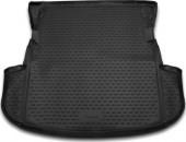 Novline Коврик в багажник Mitsubishi Outlander '12- (без органайзера), полиуретановый черный