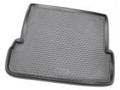 Novline Коврик в багажник Toyota LC Prado 150 '10- (7 мест, длинный), полиуретановый черный