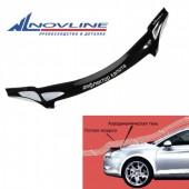 Novline Дефлектор капота Hyundai Creta '15-,черный