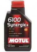 Motul 6100 Synergie+ 5W-30 Полусинтетическое моторное масло