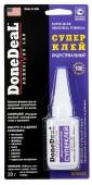DoneDeal Суперклей индустриальный, не требует обезжиривания поверхностей (DD6643)