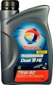 Total Transmission Dual 9 FE 75W-90 Синтетическое трансмиссионное масло