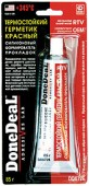 DoneDeal Термостойкий герметик (красный силиконовый формирователь прокладок) (DD6726)