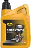 Kroon Oil Scoosynth Полусинтетическое масло для для тяжелонагруженных высокоскоростных 2Т двигателей