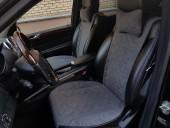 Аvторитет Premium Накидка на переднее сиденье, графит, 2шт