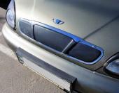 AVTM Зимняя накладка глянцевая Daewoo Lanos '98-, решетка