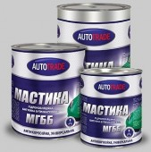 AUTOTRADE Гидроизоляционная битумная бутилкаучуковая мастика