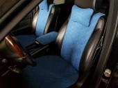 Аvторитет Premium Накидки на передние и задние сиденья, синий