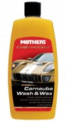 Mothers California Gold Carnauba Wash & Wax Автошампунь с воском Карнаубы