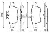 Bosch 0 986 495 216 Тормозные колодки