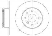 Remsa 6363.00 Тормозной диск