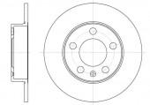 Remsa 6547.00 Тормозной диск