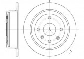 Remsa 6876.00 Тормозной диск Lacetti