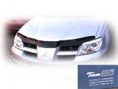 Heko Дефлекторы капота Renault Logan 2004 -2012 , на зажимах