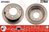 TRW DF4483 Тормозной диск