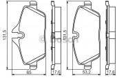 Bosch 0 986 495 251 Комплект тормозных колодок