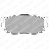 Delphi LP1527 Комплект тормозных колодок