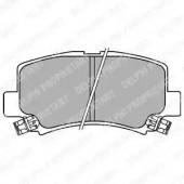 Delphi LP1439 Комплект тормозных колодок