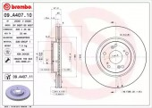 Brembo 09.A407.10 Тормозной диск