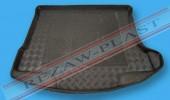 TM Rezaw-Plast Коврики в багажник Mazda 3 (II) 2009 -> резино-пластиковые, хетчбэк, черные, 1шт