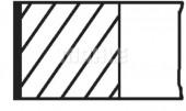 Mahle 012 18 N2 Кольца поршневые Mahle Aveo 1,4